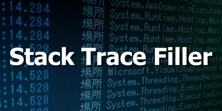 Stack Trace Filler